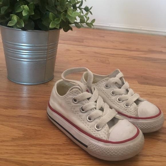 Converse Shoes   Infant Size 4 White